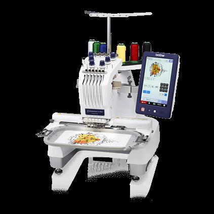 Bordadora Semi Industrial Brother PR670E. Las mejores marcas y modelos de máquinas de coser domesticas e industriales en quito ecuador. Somos La Bobina Corp desde 1990.