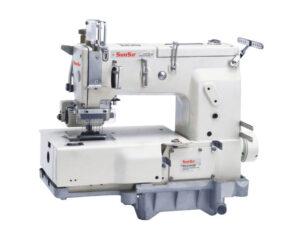 Máquina de Coser Sunsir SS-C1412P. El mejor respaldo con la mejor garantía del país en bordadoras industriales y máquinas de coser en Quito Ecuador. Síguenos en labobina.net. La mejor opción para realizar sus compras de equipos textiles en el Ecuador.