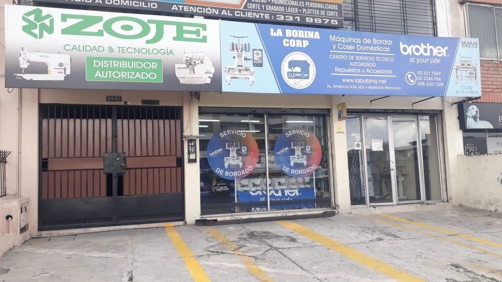 La Bobina Corp Máquinas de Coser Domésticas Máquinas de Coser Industriales Bordadoras Domésticas Bordadoras Industriales Asesoría Profesional en Quito Ecuador